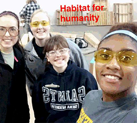 A Day of Service: How 10 Students Celebrated Martin Luther King Jr. Day