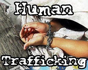 human trafficking image