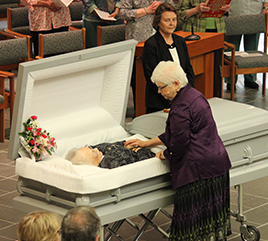 Hundreds Gather to Bid Farewell to Former Prioress Sister Nadine Foley