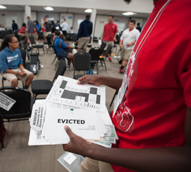 Poverty Awareness Simulation Impacts Barry Community