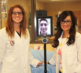 Barry's School of Nursing Introduces Robotic Technology to Enhance Learning