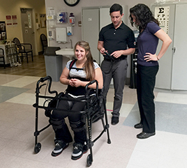 New Tool at Dominican Hospital Helps Patients Walk after Brain, Spinal Cord Injuries
