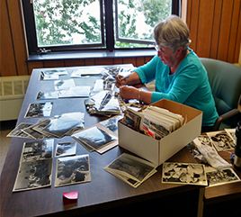 Sister and Associate Devote Summer to Anchorage Archives
