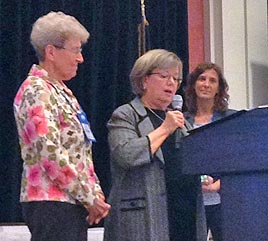 Sister Carleen Maly Named 2015 Literacy Champion