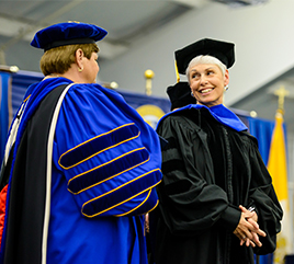 Siena Heights Bestows Honorary Doctorate on Sister Mary Ellen Leciejewski, OP