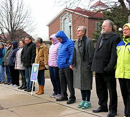Adrian Dominicans Among Crowds to 'Circle the Cities with Love'