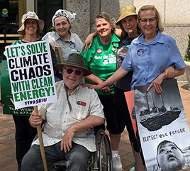Adrian Dominican Sisters and Associates Take Part in People's Climate March