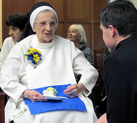 Sister Charles Christine Uhnavy, OP, Celebrates her 100th Birthday