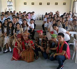Dominican School of Angeles City Receives 'Angelic' Visit of Lumad Children