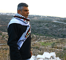 Nonviolent Peace Activist Iyad Burnat to Offer Presentation and Book Signing November 13