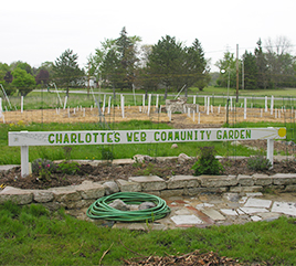 Public Meeting to Discuss Participation in Charlotte's Web Community Garden