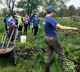 Barry and Siena Heights University Students Share Environmental Leadership Experience