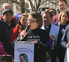 Four Adrian Dominican Sisters Stand in Solidarity with Dreamers