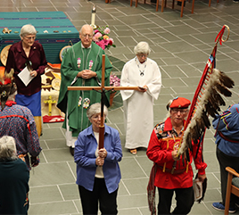 Sisters and Native Guests Celebrate Unity on Indigenous Peoples Day