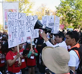 Adrian Dominicans in Chicago Participate In Prayer Service and Fast in Support of Dreamers