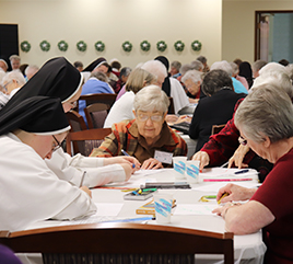 Adrian Dominican Sisters Host Women Religious from Lansing Diocese