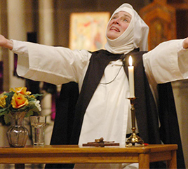 Sister Nancy Murray, OP, Speaks of Influences Leading to her Portrayal of Catherine of Siena