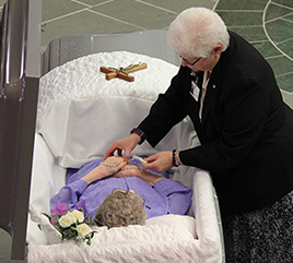 Hundreds Remember Former Prioress with Tears, Stories, and Deep Appreciation