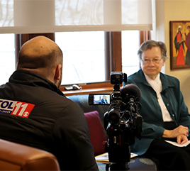 Sister Rose Ann Schlitt Tells WTOL about Delegation's Mission to Iraq