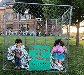 Adrian Dominican Sisters and Associates Attend Rallies in Solidarity with Immigrant Families
