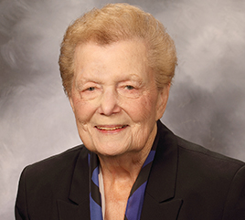 Sister Jeanne O'Laughlin, OP, Remembered as Former President of Barry and Humanitarian