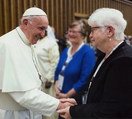 Sister Patricia Siemen, OP, Prioress, Offers Positive Reflection on Pope Francis at UISG