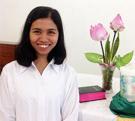 Sister Leizel V. Tedria, OP, Makes First Profession of Vows in Philippines