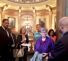Sister Cheryl Liske, Other Activists Lobby for Racial Equity