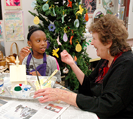 Sister Nancyann Turner Focuses on Joy of Creating Christmas Gifts