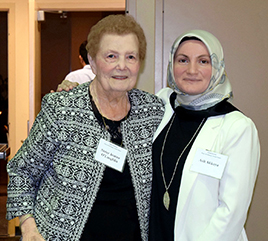 Sister Jeanne O'Laughlin Receives Community Service Award