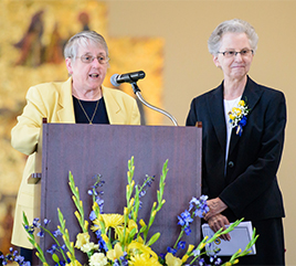 Siena Heights Recognizes Two Sisters as 'Outstanding Alumni' during Homecoming